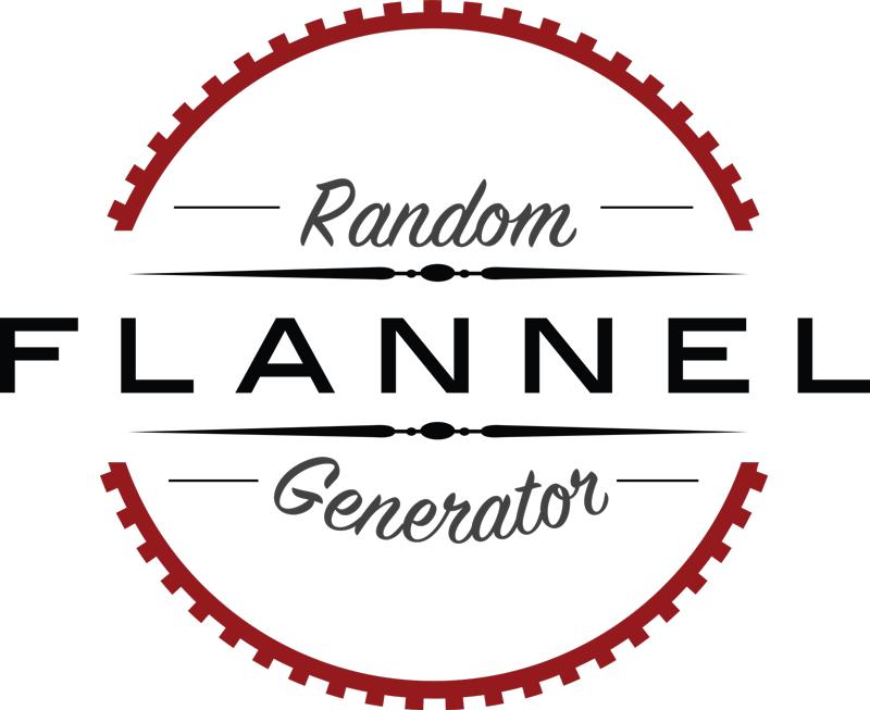 Random Flannel Generator